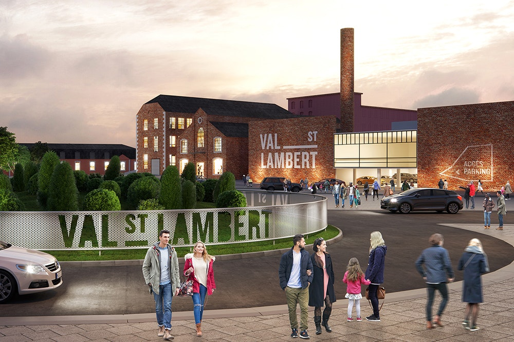 Val Saint-Lambert-The Home of Re-Creation.