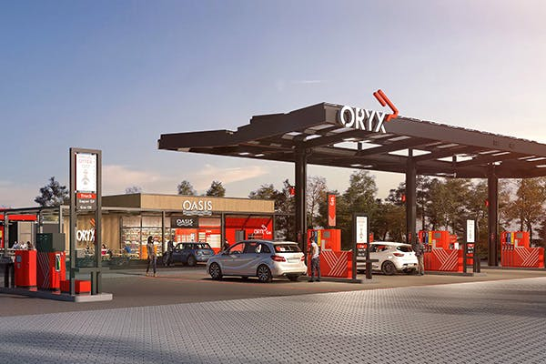 Oryx-The panafrican petrol station brand.