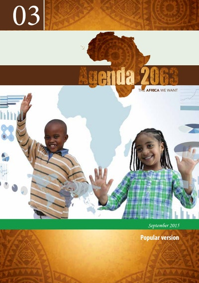 Agenda 2063 – The Africa we want