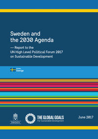 Sweden Sweden and the 2030 Agenda cover