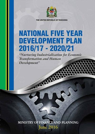 National Five Year Development Plan 2016-17__2020-21