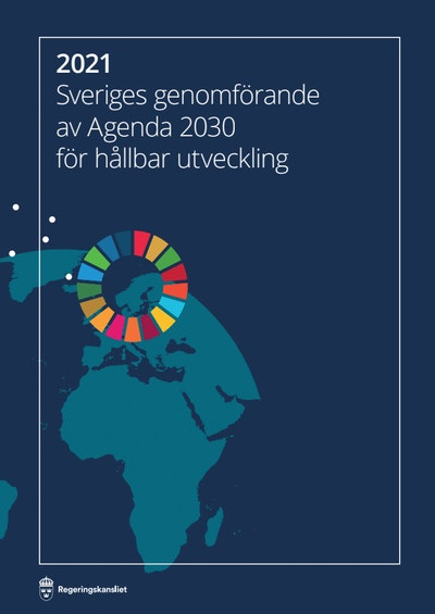 Sweden's implementation of Agenda 2030 for sustainable development