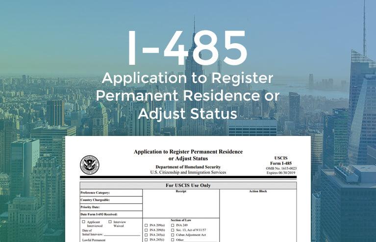 I-485 Form Online