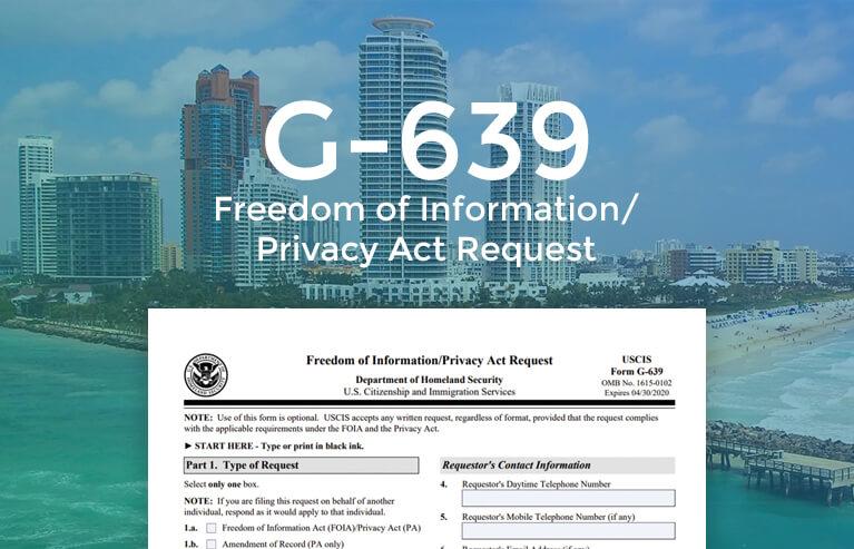 G-639 online form