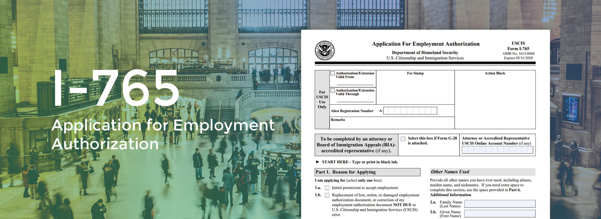 I-765 Form online