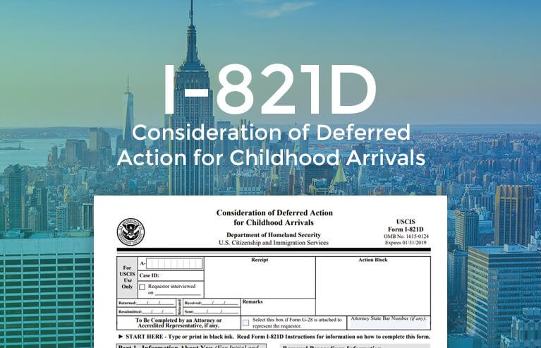 I-821D Form Online