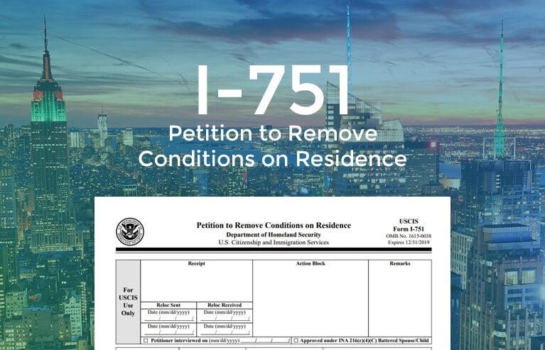 I-751 online form