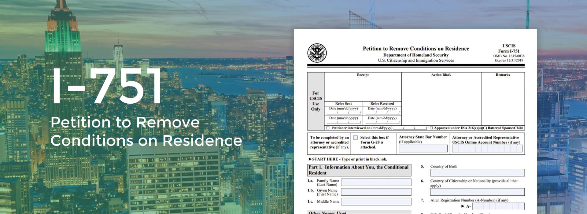 I-751 form online