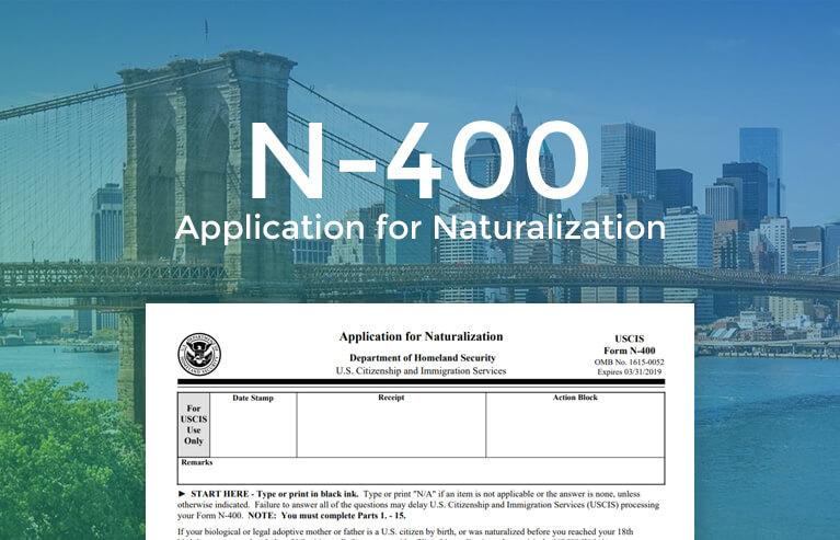 Online forn n-400