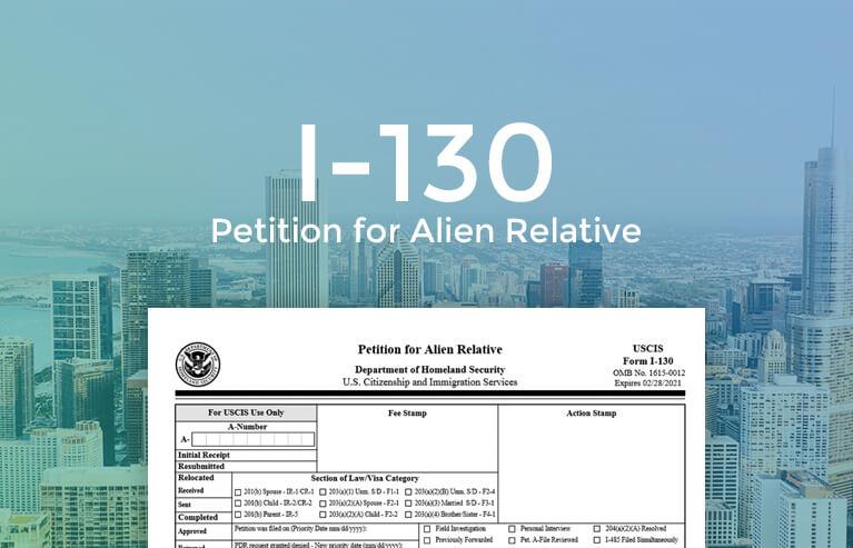 I-130 Form online