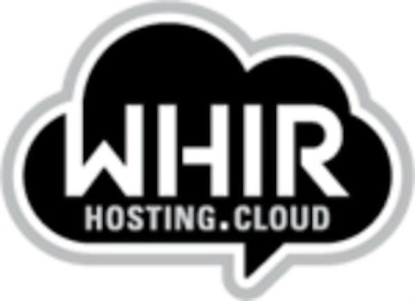 The Whir Cloud Hosting logo