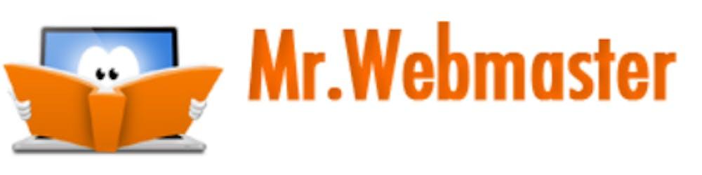 Mr. Webmaster logo