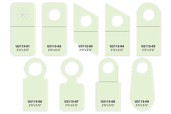 Bottle Neckers Paper Sizes and Shapes