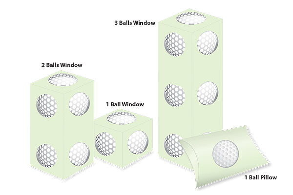 Golf Ball Boxes Sizes and Shapes (2)