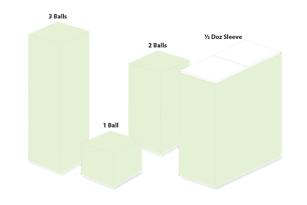 Golf Ball Boxes Sizes and Shapes
