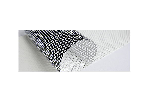 Roll Banner Window Perf Material
