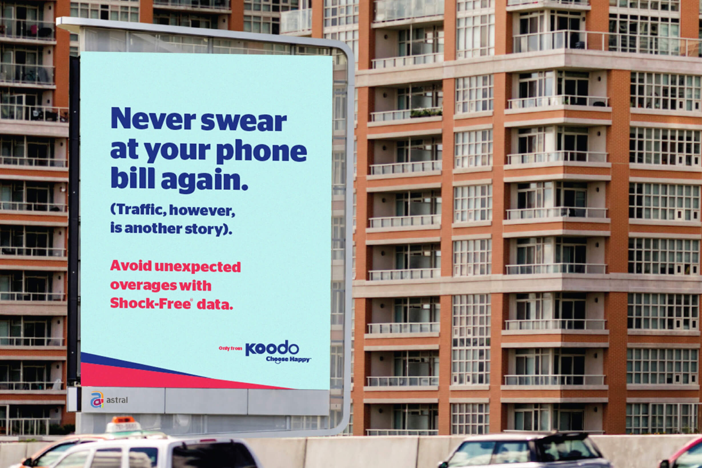 Never swear at your phone bill again.