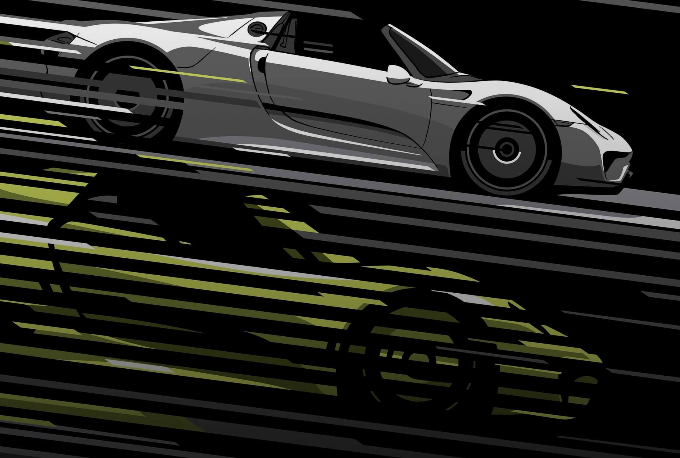 Porsche Vintage Meets Modern
