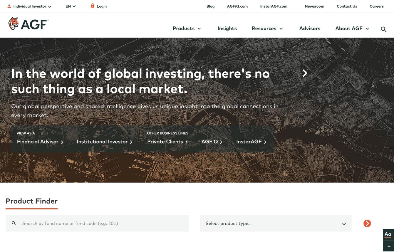 Website video overlay