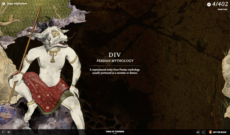 DIV Persian Mythology