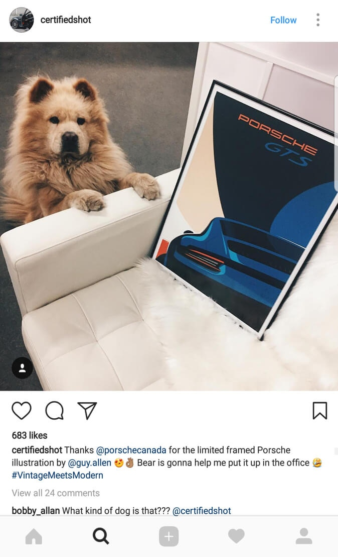GTS Instagram
