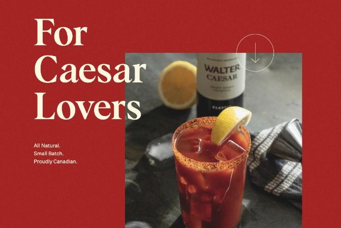 Walter Caesar Website