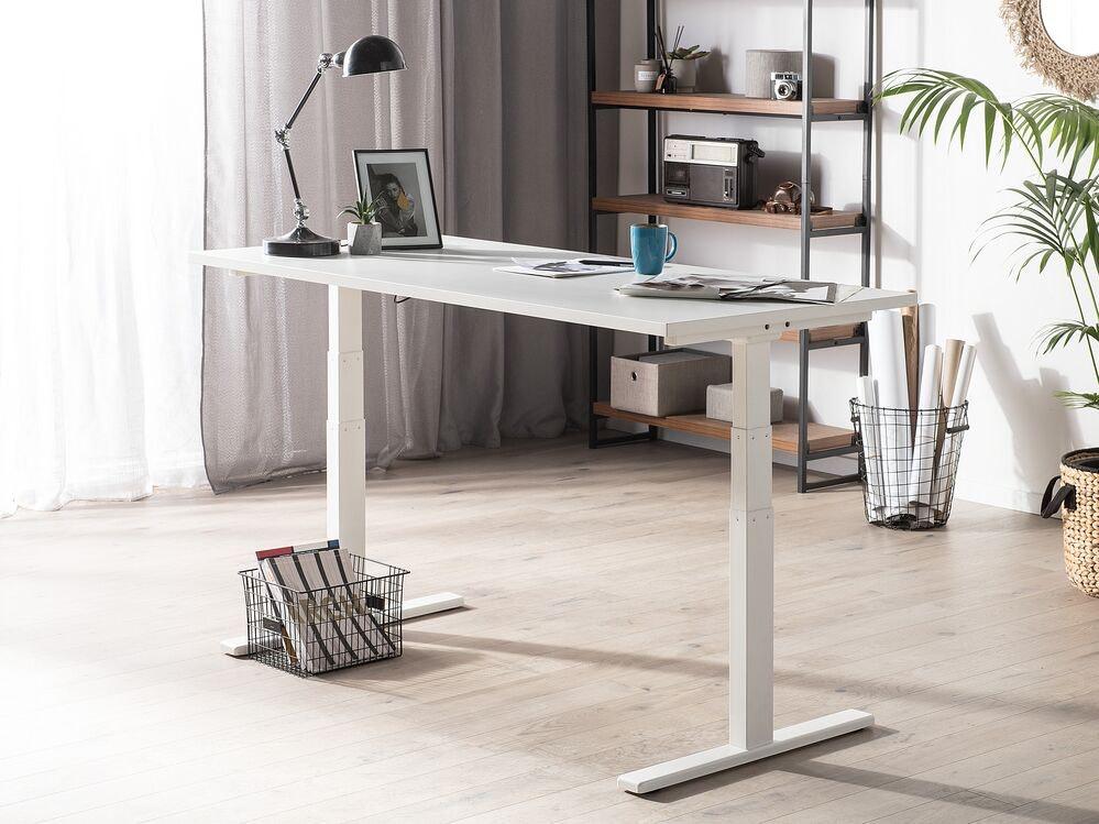 Beliani Electric Adjustable Standing Desk – Uplift II