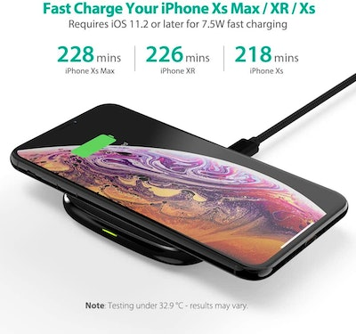RAVPower 7.5w Fast Wireless Charger (RP-PC066)