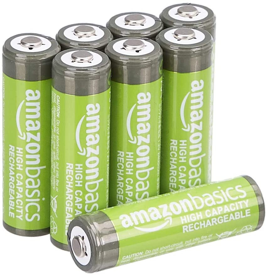 Amazon Basics AA High Capacity Rechargeable Batteries