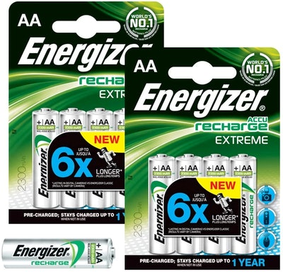 Energizer Recharge Extreme AA