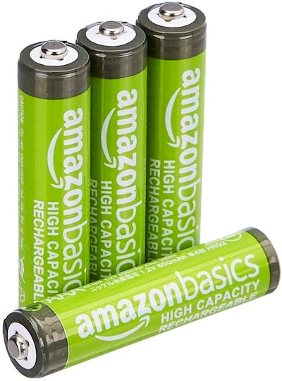 Amazon Basics AAA High Capacity Rechargeable Batteries