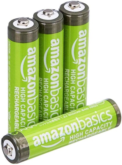 Amazon Basics AAA High Capacity Rechargeable Batteries