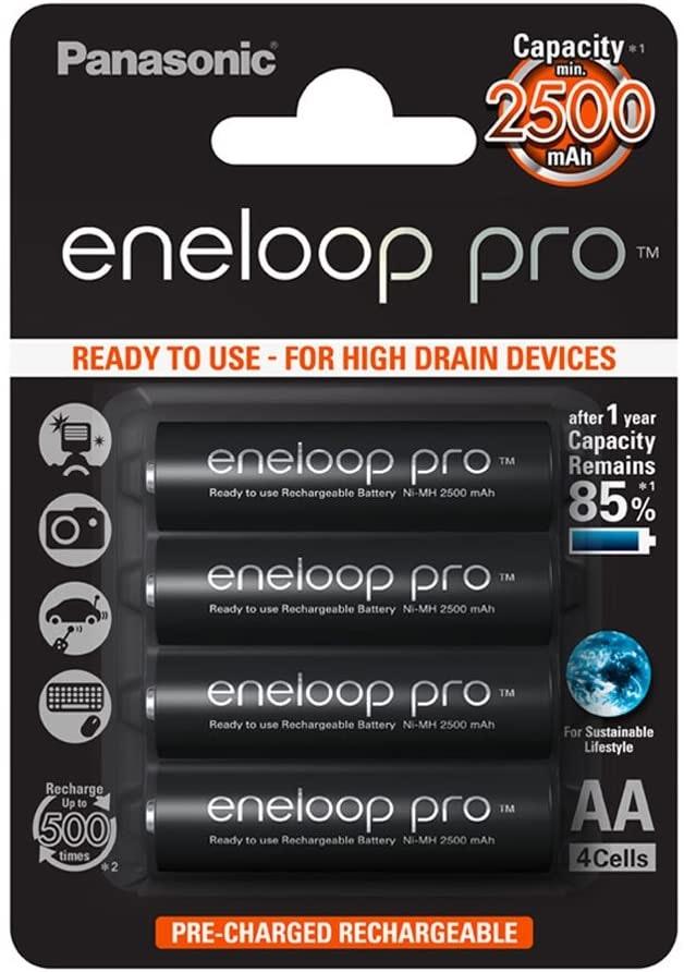 Panasonic Eneloop Pro AA