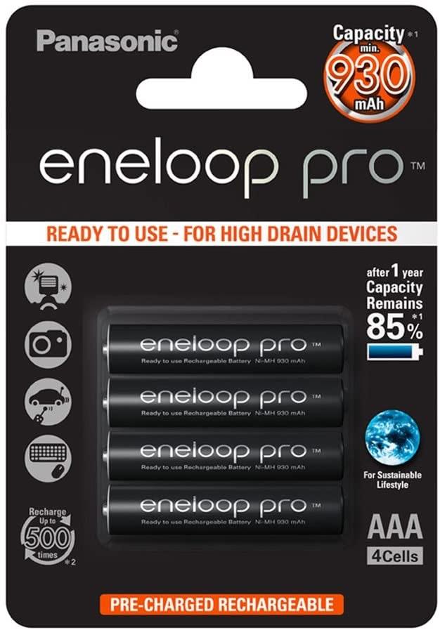 Panasonic Eneloop Pro AAA