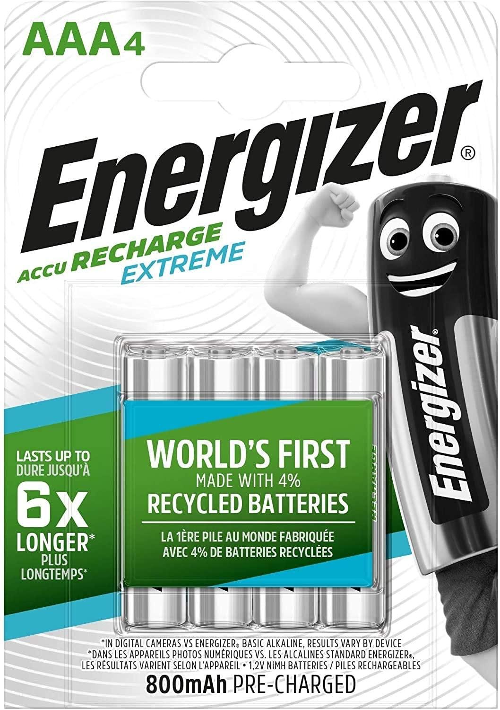 Energizer Recharge Extreme AAA