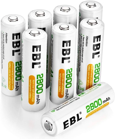 EBL Rechargeable AA Batteries