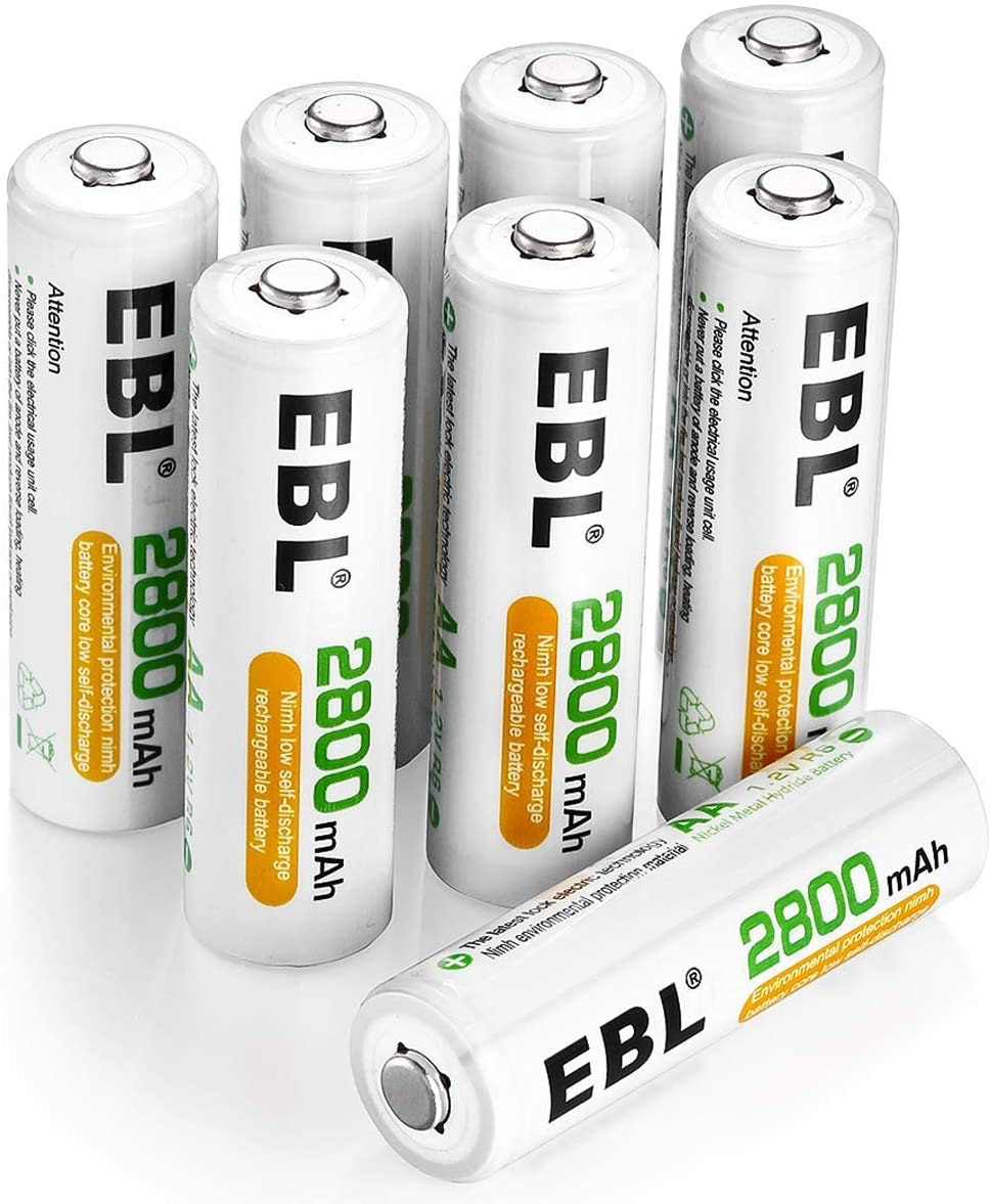 EBL Rechargeable AA Batteries