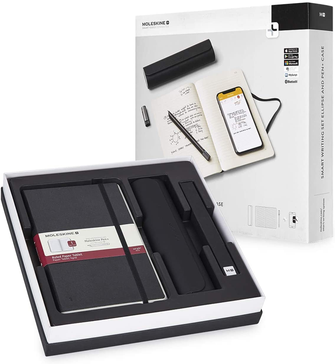 Moleskine Pen+ Ellipse Smart Writing Set