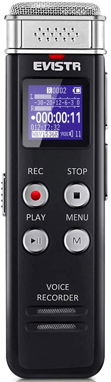 EVISTR 16GB Digital Voice Recorder