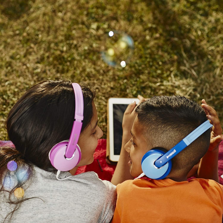 Groov-e Kidz On-Ear DJ Style Headphones with Adjustable Headband