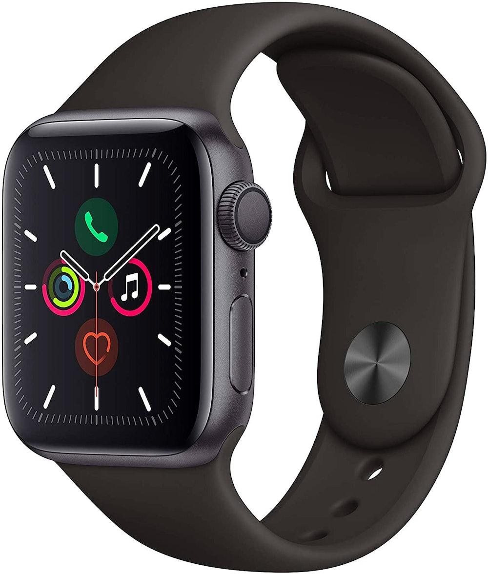 Apple Watch Series 5 running watch