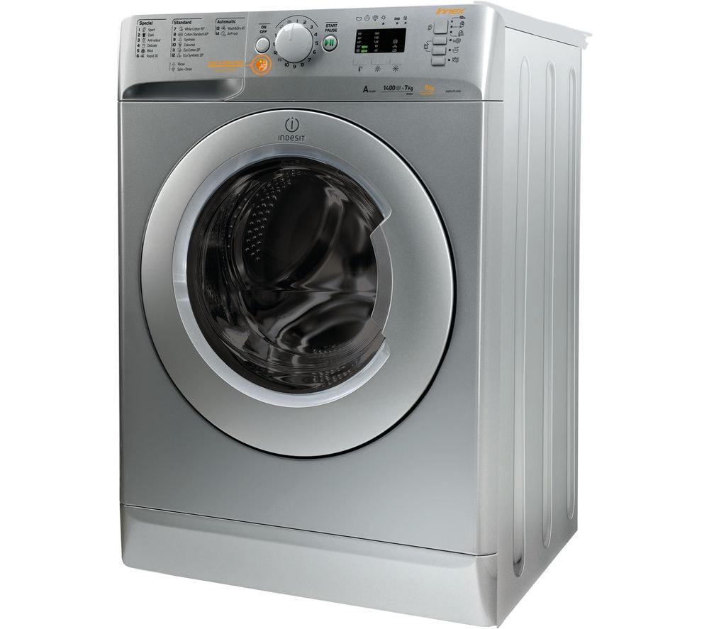 INDESIT Innex XWDE751480XS Washer-Dryer 7 kg/5 kg