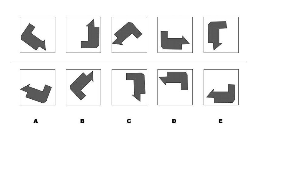 Inductive reasoning test - exapme 3