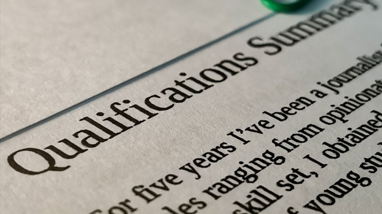 The Role of the Statement of Qualifications Section on Your Resume
