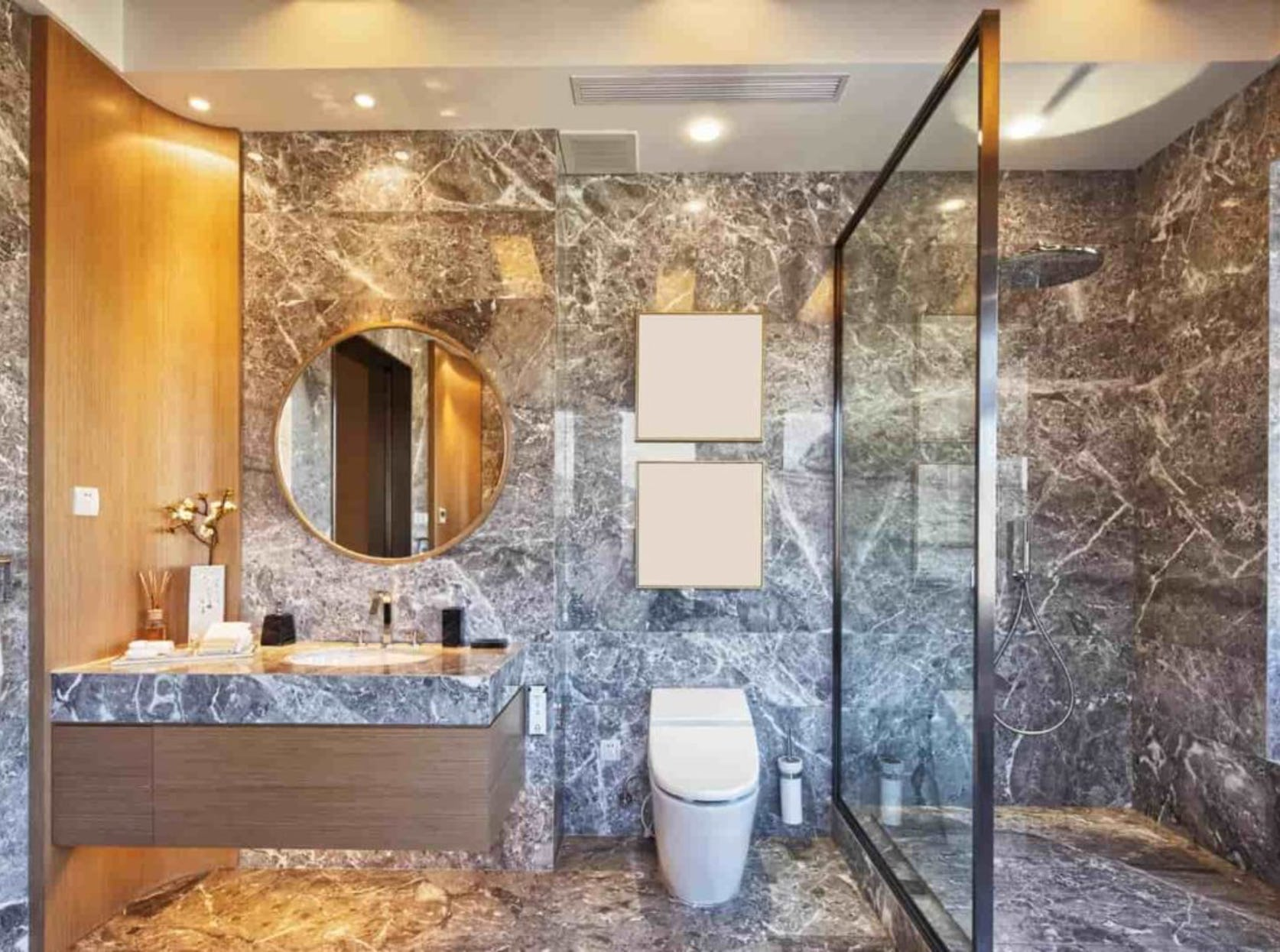 optimisation espace salle de bain