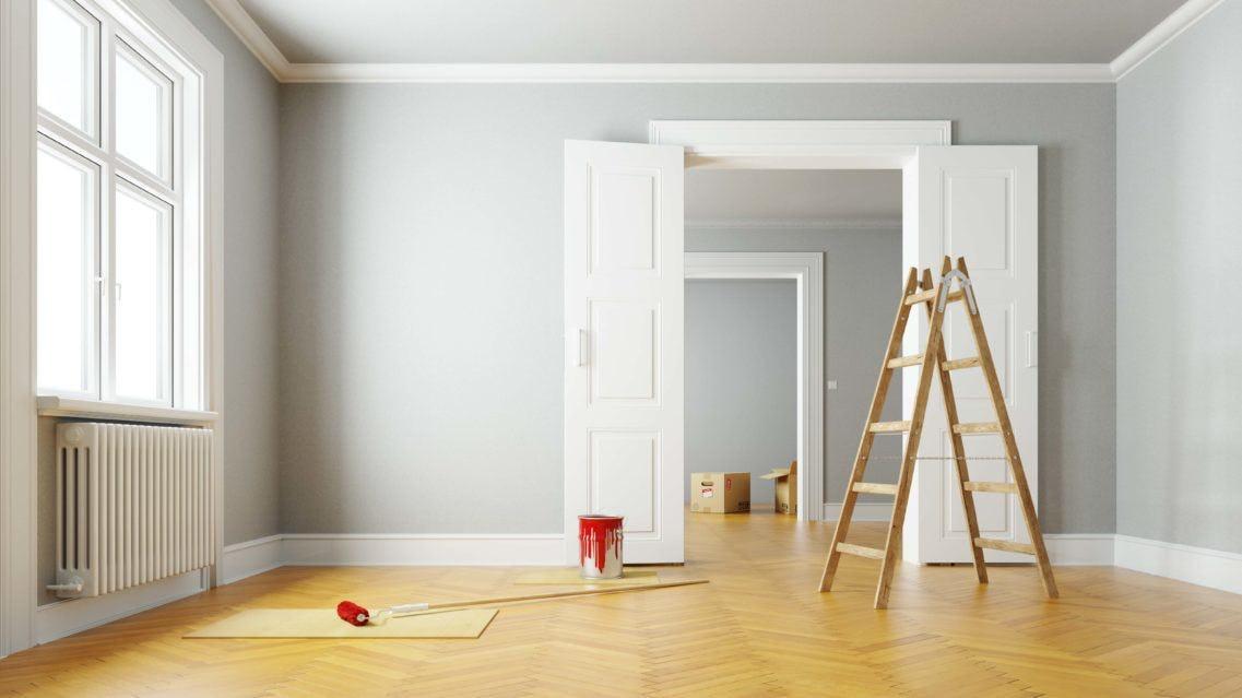 rénovation peinture appartement