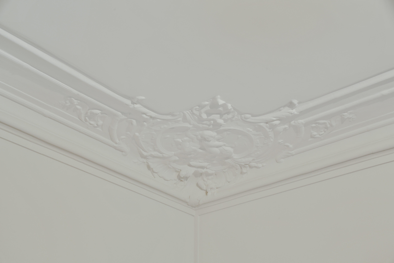 détails moulures plafond paris 14