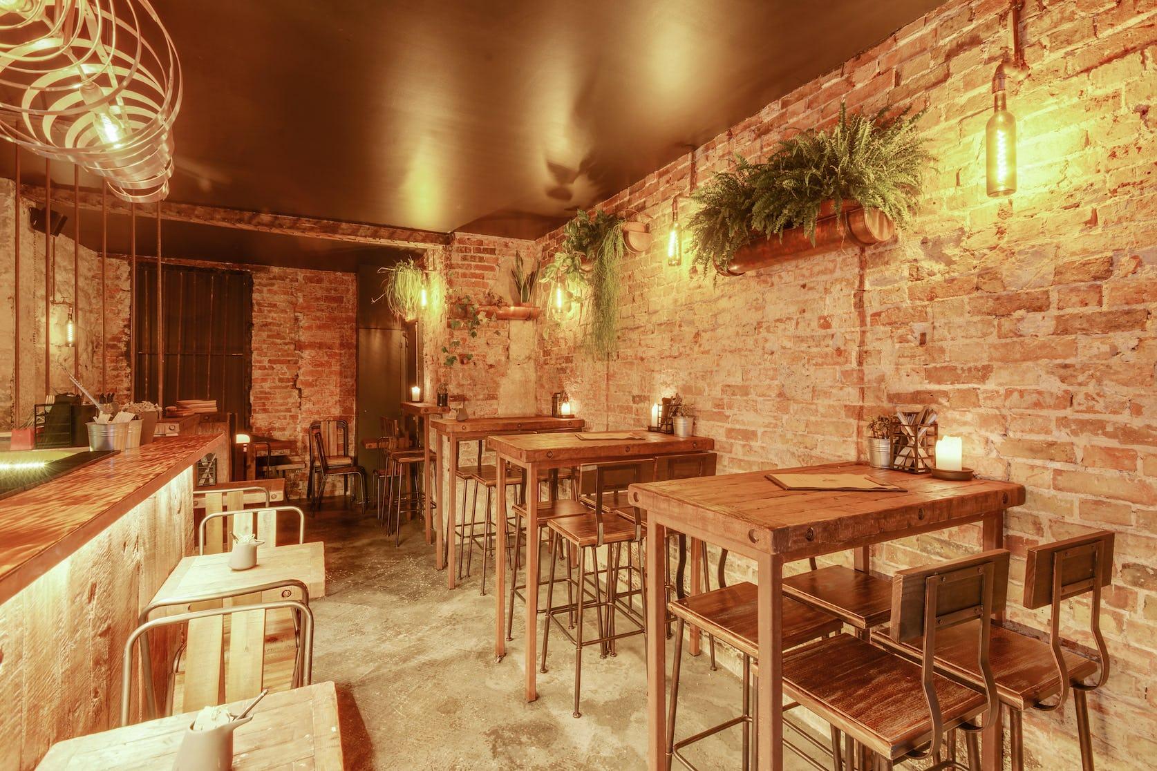 rénovation restaurant amore amaro Paris
