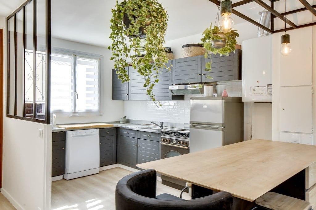 apres renovation cuisine