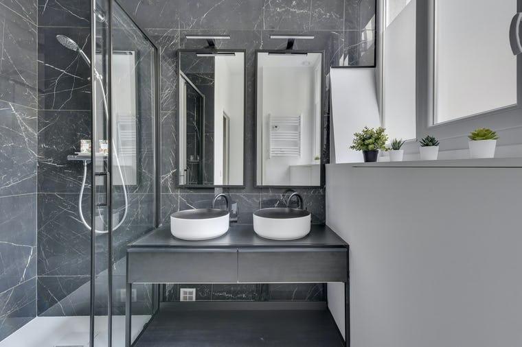 salle de bain rénovée Paris